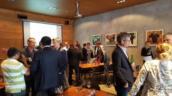 NZSA networking event attendees